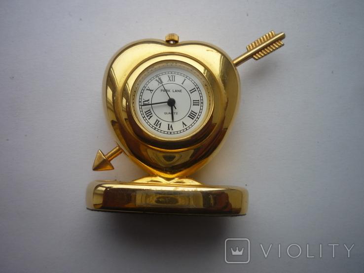 Часы сердечко, фото №5