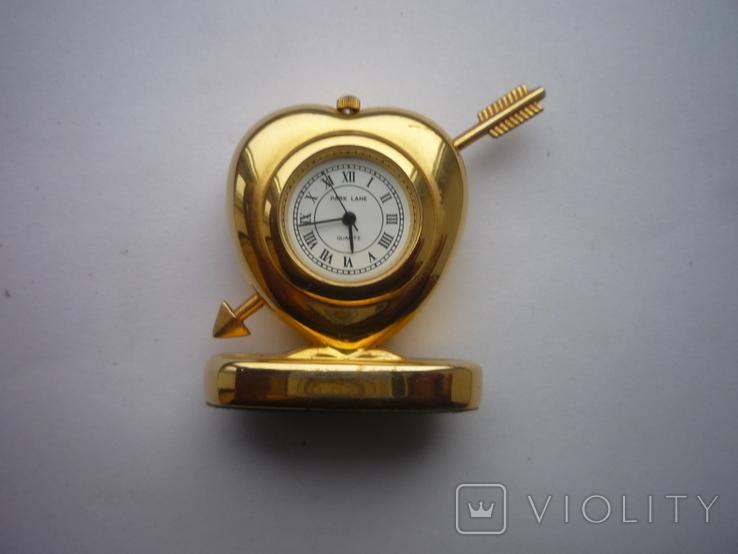 Часы сердечко, фото №8