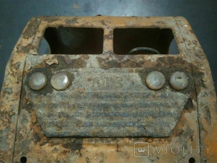 ЛТЗ самосвал, грузовая жестяная машинка ссср, фото №6