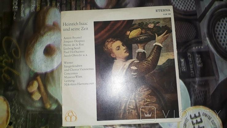 Heinrich lsaac und seine Zeit
