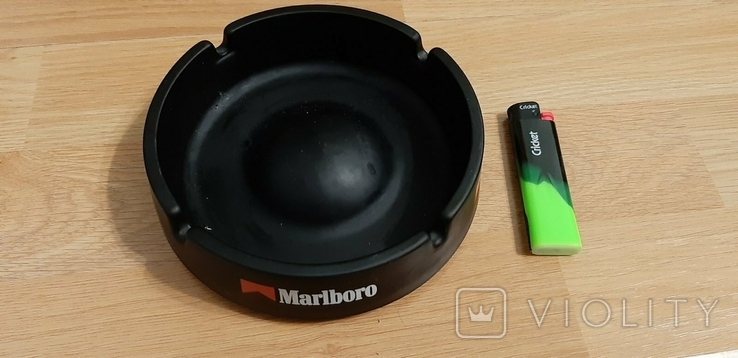 Пепельница Marlboro большая керамическая, фото №3