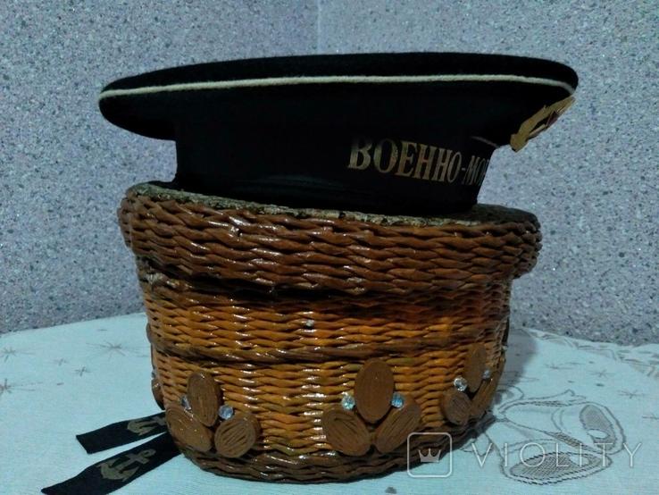 Бескозырка ВМФ СССР, фото №5