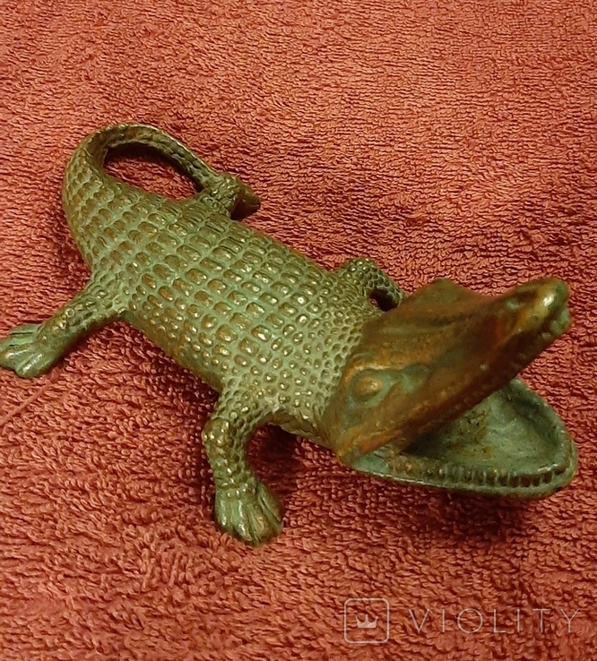 Пепильница крокодил, фото №2