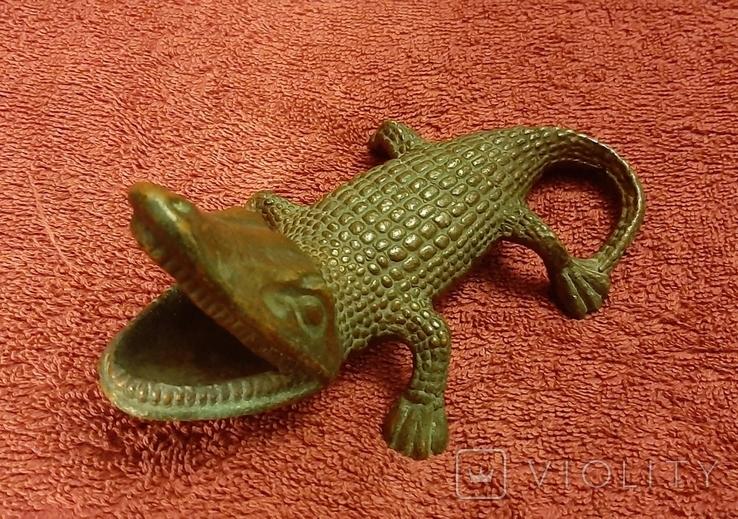 Пепильница крокодил, фото №3