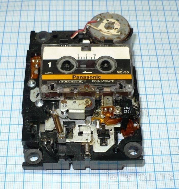 Лентопротяжный механизм под микрокассету, с автоответчика., фото №2