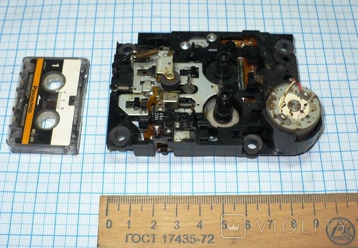 Лентопротяжный механизм под микрокассету, с автоответчика., фото №3