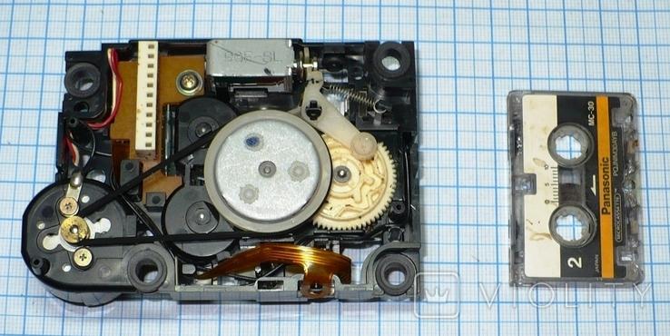 Лентопротяжный механизм под микрокассету, с автоответчика., фото №6