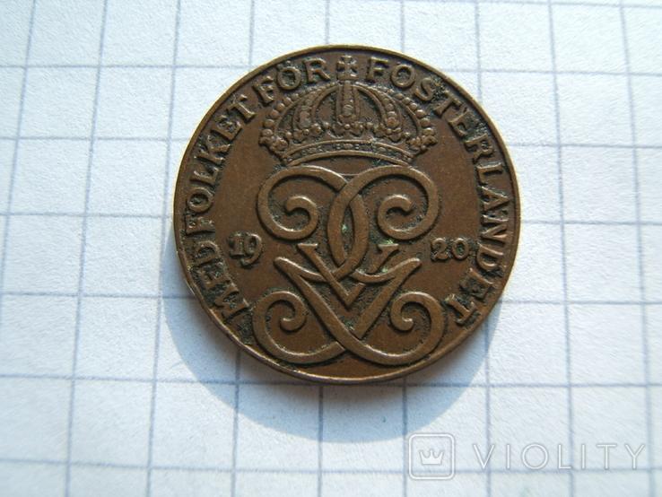 Швеция 2 эре 1933 г.  KM#778, фото №5