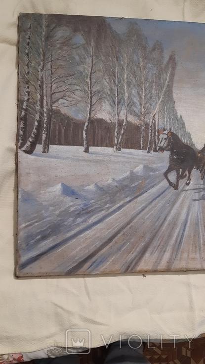 "Картина ""Деревенская свадьба ""., фото №8"