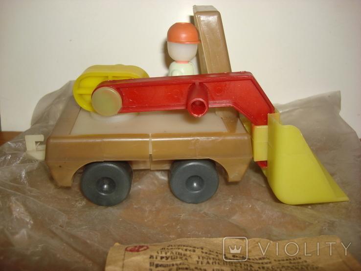 Игрушка экскаватор.в заводской упаковке., фото №5