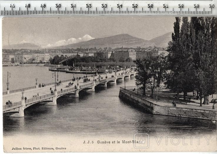 Швейцария. Женева. 1906 год., фото №2