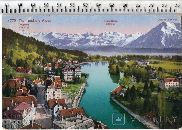 Швейцария. Тун. 1920 год., фото №2