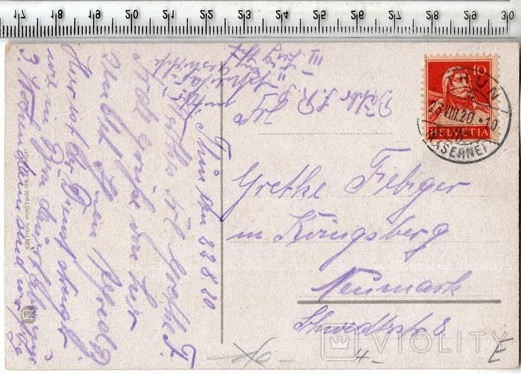 Швейцария. Тун. 1920 год., фото №3