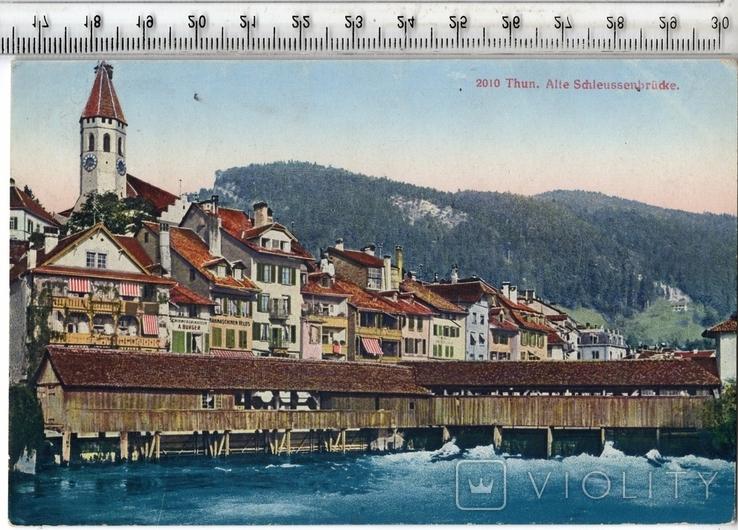 Швейцария. Тун. 1919 год., фото №2