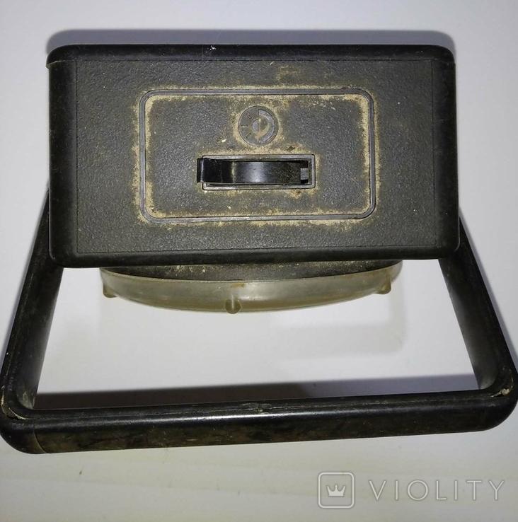 Электрический фонарь Б-105 СССР, фото №3
