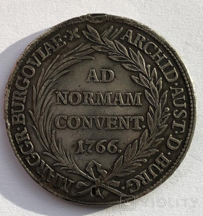 1 талер  1766 года, Бургау, фото №3