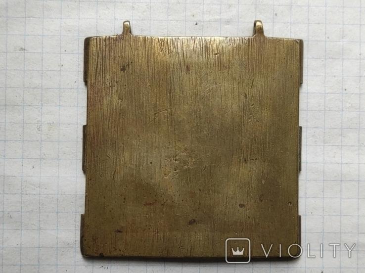 Икона складня центральная часть, фото №3