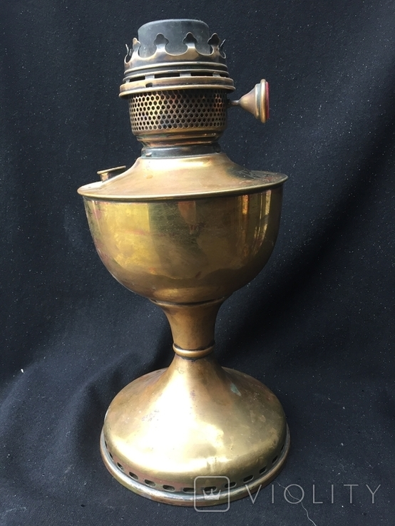 """Керосиновая лампа, """"Famos"""" Англия, фото №3"""