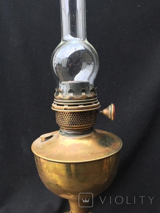 """Керосиновая лампа, """"Famos"""" Англия, фото №4"""