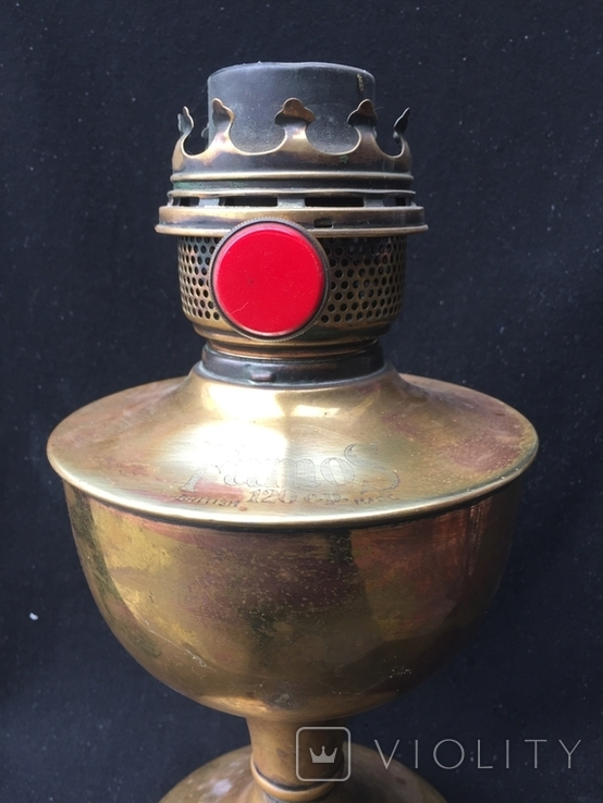 """Керосиновая лампа, """"Famos"""" Англия, фото №5"""