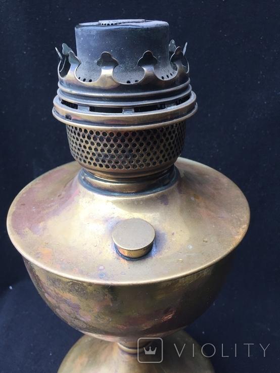 """Керосиновая лампа, """"Famos"""" Англия, фото №7"""