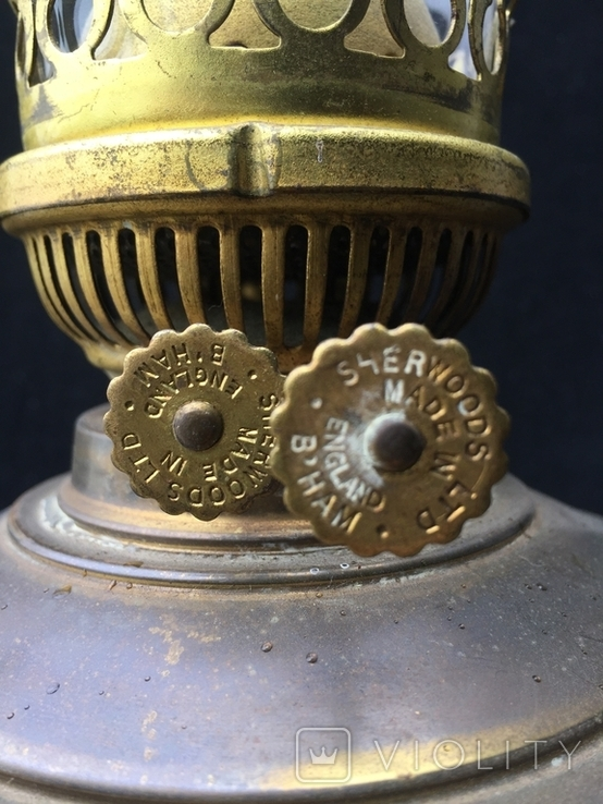 """Керосиновая лампа """"Sherwoods"""", Англия, фото №7"""