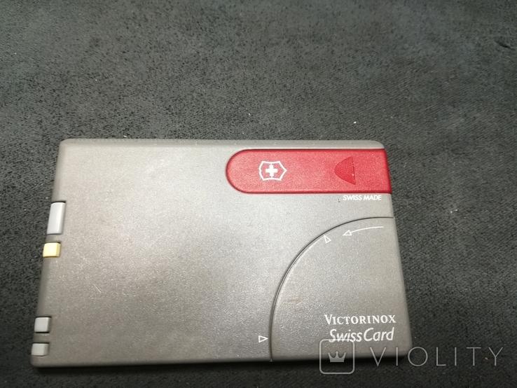 Swiss card  Victorinox, фото №2