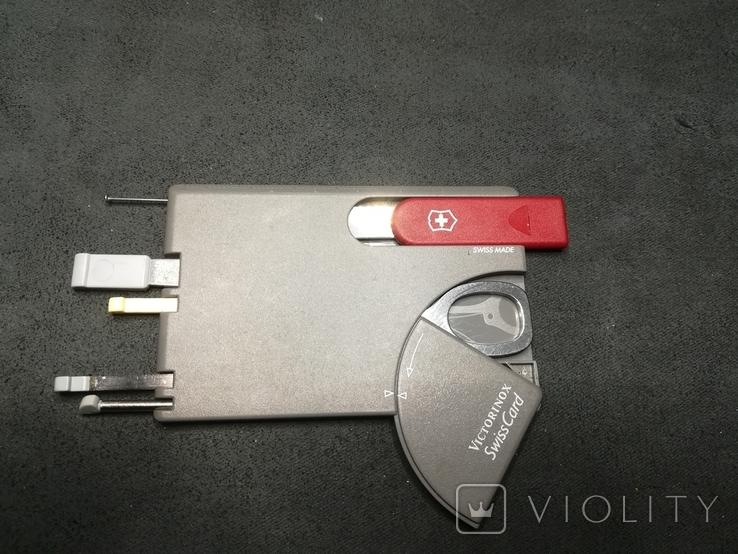 Swiss card  Victorinox, фото №3