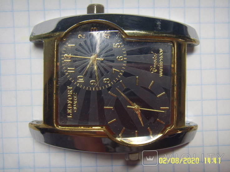 Часы LEDFORD Мужские, механизмы MIYOTA Япония. Не рабочие., фото №4