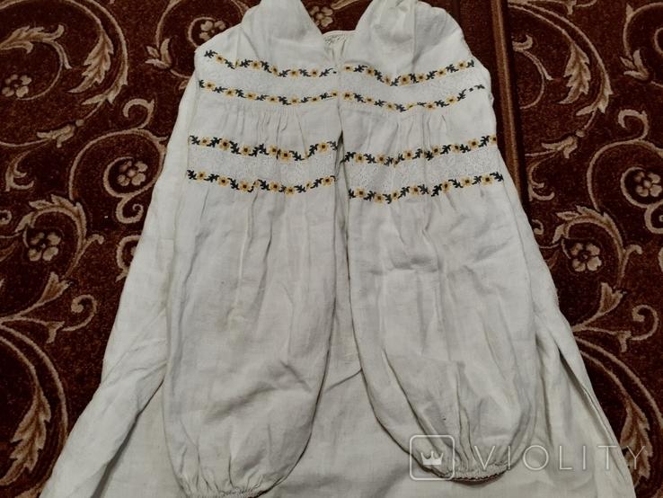 Сорочка жіноча з мережкою 1, фото №3