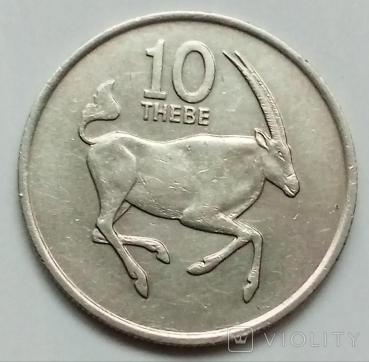 10 тхебе 1979 г. Ботсвана, фото №2