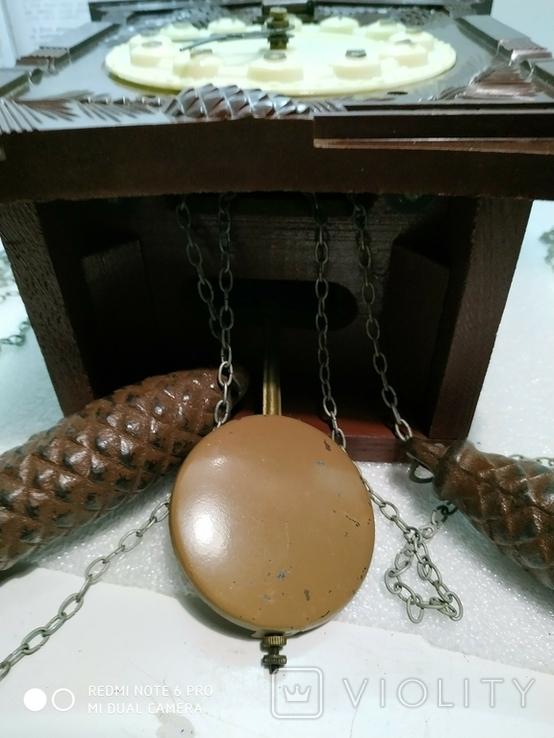 Часы с кукушкой Маяк ссср, фото №4