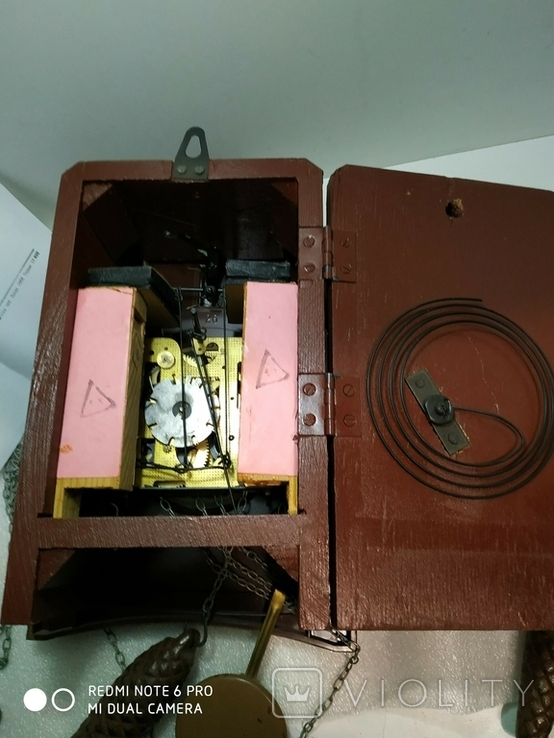 Часы с кукушкой Маяк ссср, фото №9