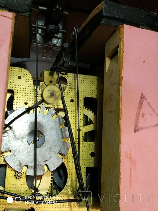 Часы с кукушкой Маяк ссср, фото №12