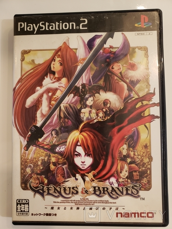 Venus & Braves (PS2, NTSC-J), фото №2