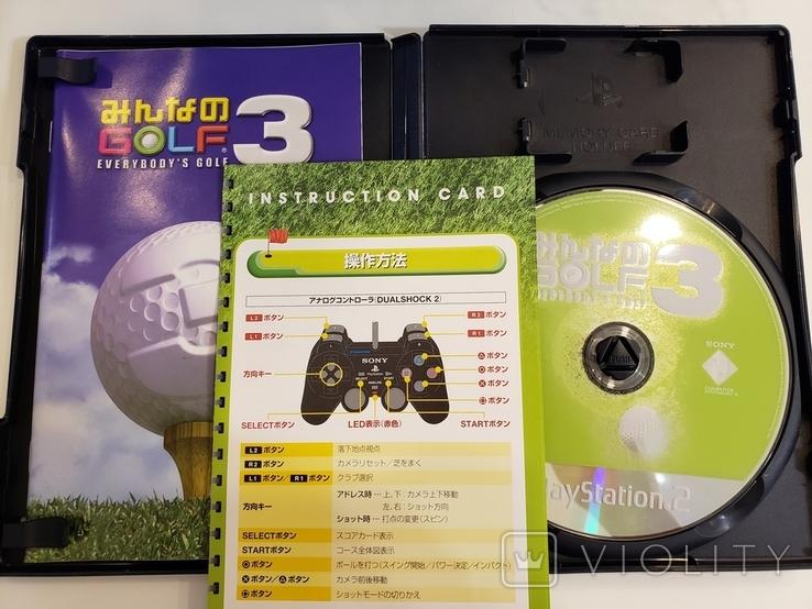 GOLF3 MEGA HITS! (PS2, NTSC-J), фото №4