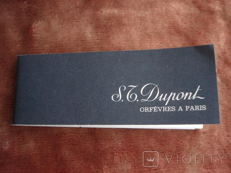 Ручка S.T. Dupont. Paris, фото №5