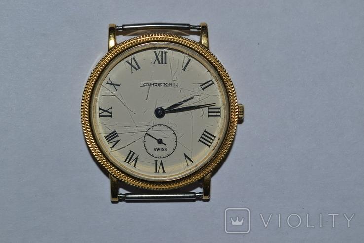 Наручные часы mirexal. Позолота, фото №2