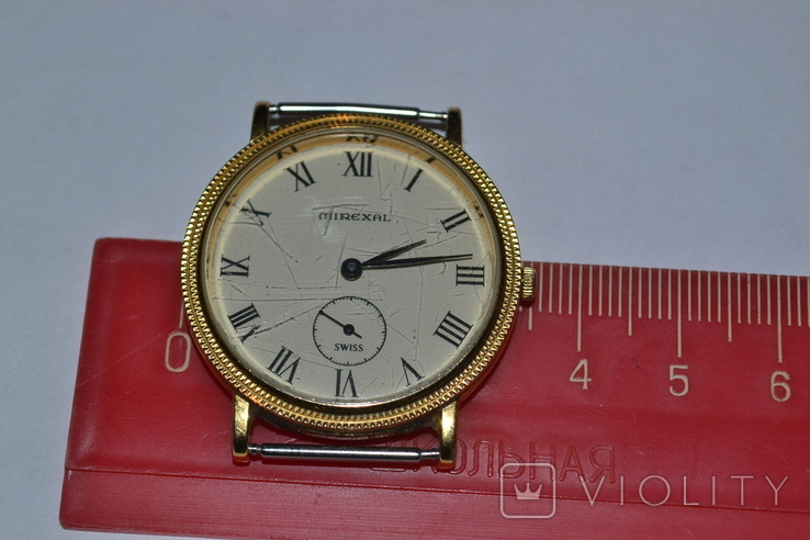 Наручные часы mirexal. Позолота, фото №12
