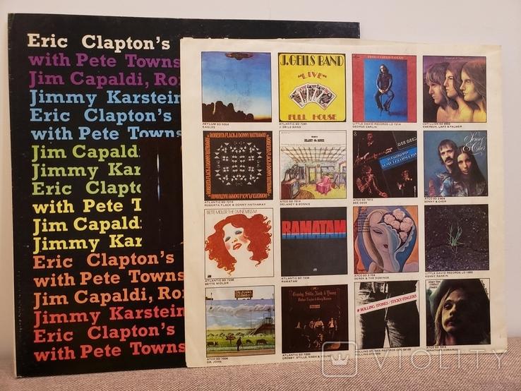 "Vinyl. ""Eric Clapton – Eric Clapton's Rainbow Concert"", фото №5"