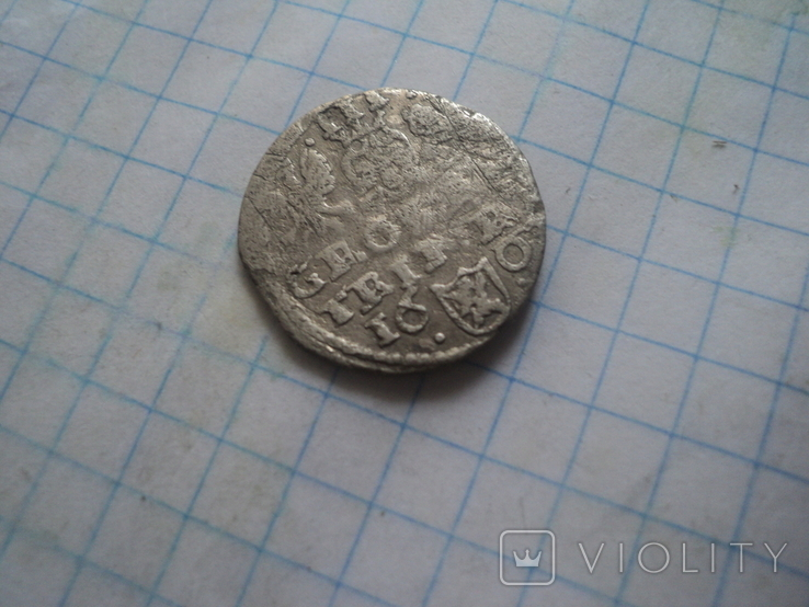Аномальный трояк 1601 г, фото №6