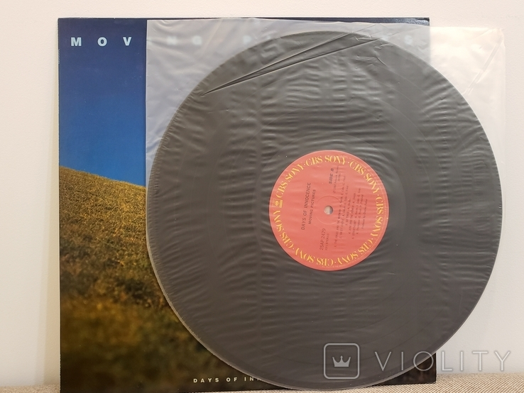 """Vinyl. """"Moving Pictures – Days Of Innocence"""", фото №4"""