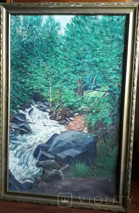 Красивая работа  неизвестного Закарпатского  мастера (80×55), фото №2
