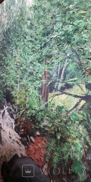Красивая работа  неизвестного Закарпатского  мастера (80×55), фото №5