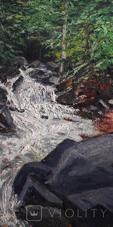 Красивая работа  неизвестного Закарпатского  мастера (80×55), фото №6