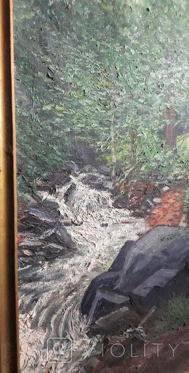 Красивая работа  неизвестного Закарпатского  мастера (80×55), фото №7