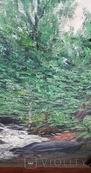 Красивая работа  неизвестного Закарпатского  мастера (80×55), фото №10