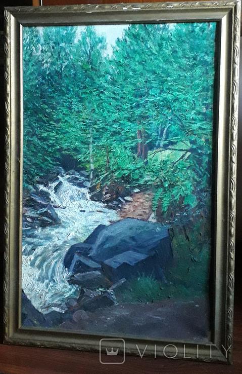 Красивая работа  неизвестного Закарпатского  мастера (80×55), фото №13