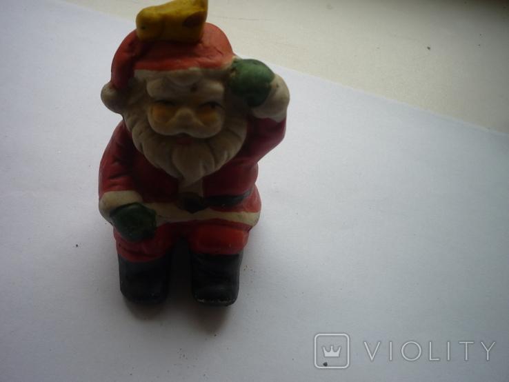 Игрушка на ёлку дед мороз германия, фото №2