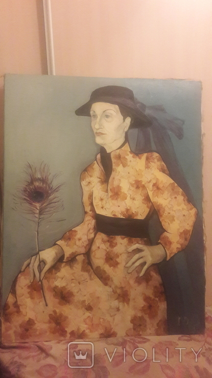 Жінка з пірїною., фото №2
